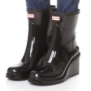 Hunter Original Short-Mid Wedge Rain Boot